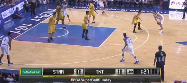 TNT KaTropa def. Star Hotshots, 115-105 (REPLAY VIDEO) September 11
