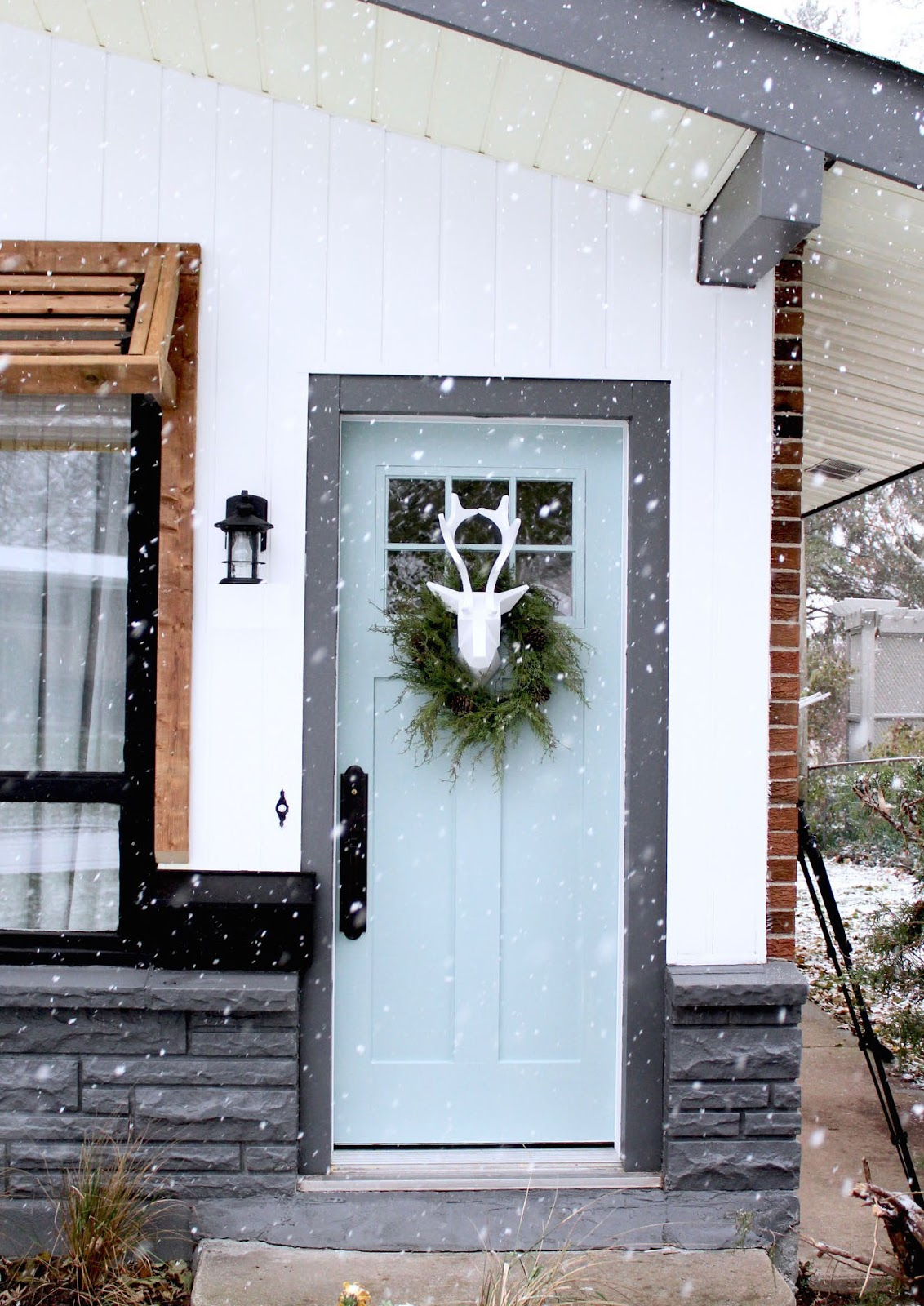 Unique Christmas Front Door Decorations Harlow And Thistle