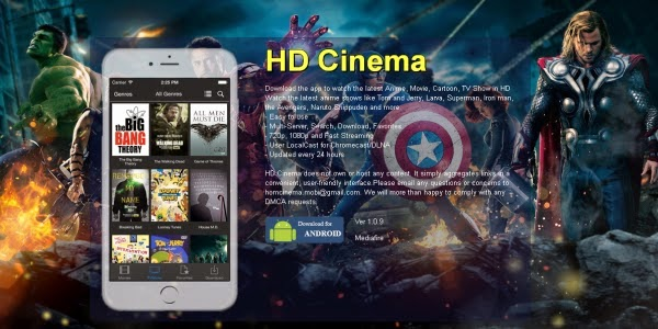 hd cinema apk free download