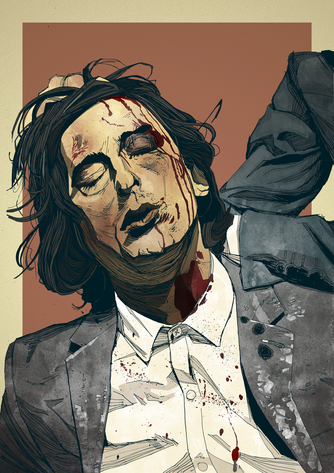 The Libertines Carl Barât illustration