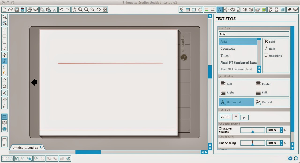 Drawing Lines Shapes Or Text On Bitmaps : How to easily make wavy text in silhouette studio