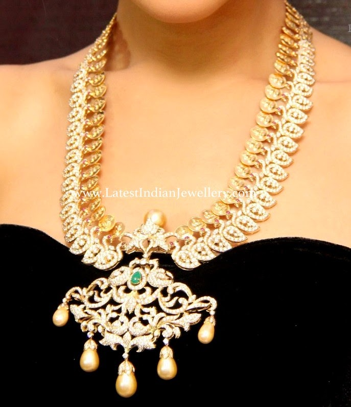 Swan Design Diamond Kasu Haram