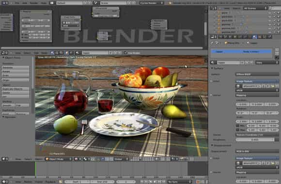 aplikasi editing video blender