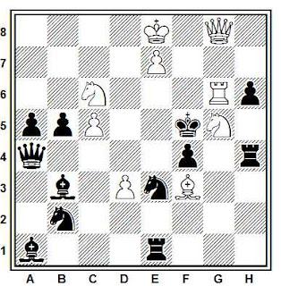 Problema ejercicio de ajedrez número 860: Mate en 2 de Julio Peris Pardo (Xeque!, 1948)