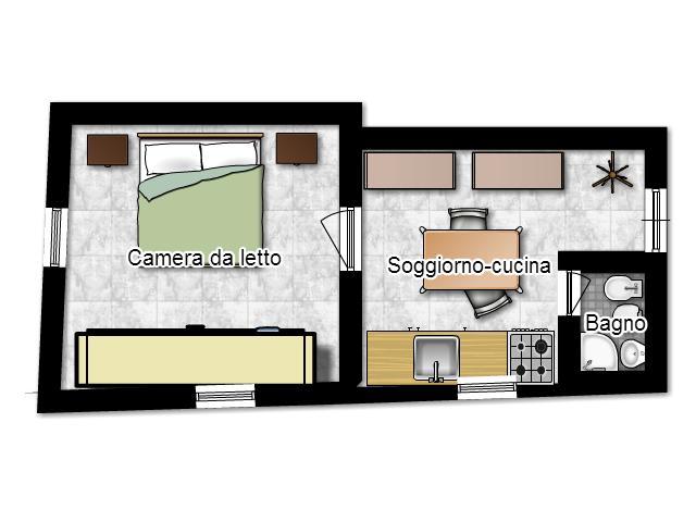 Come arredare monolocale 25 mq hd09 regardsdefemmes for Arredare casa di 40 mq