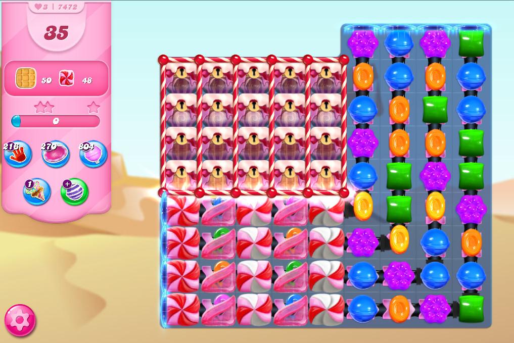 Candy Crush Saga level 7472