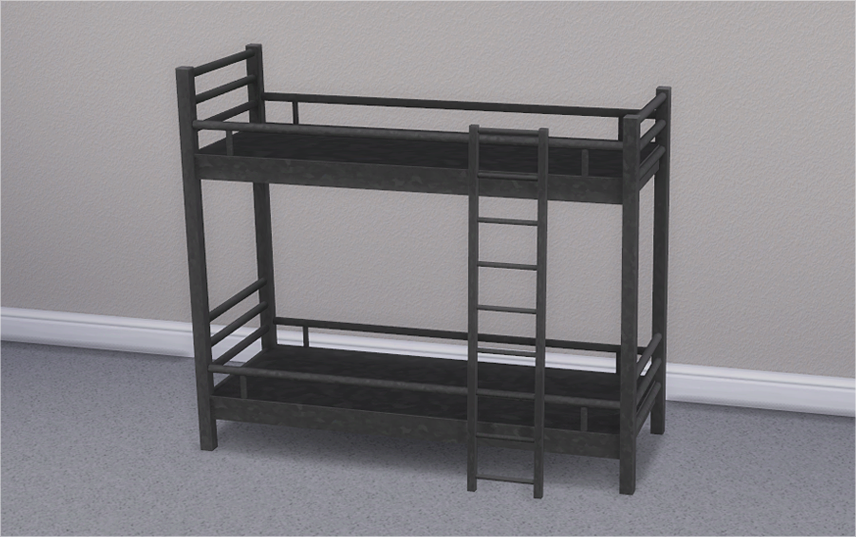 My Sims 4 Blog: Hipster Loft Bunk Bed & Mattresses for ...