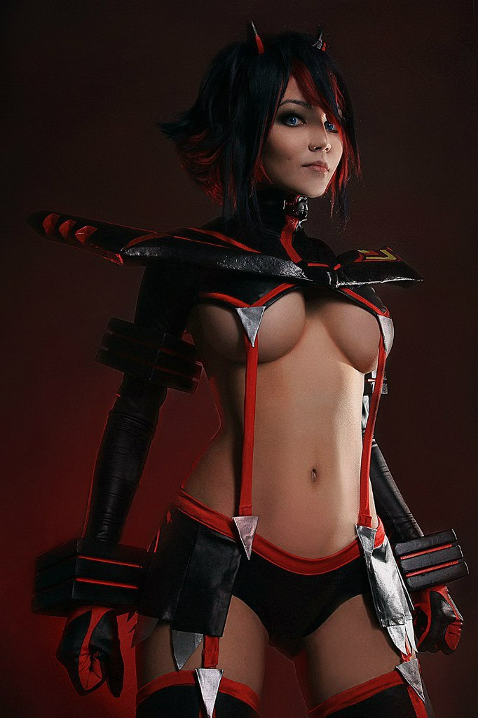 christina fink sexy ryuko matoi cosplay 04