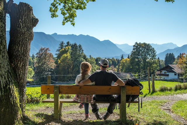 Meditationsweg Ammergauer Alpen im Blauen Land  Etappe 3 Murnau - Aidling 06