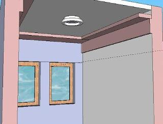 pemakaian gypsum vertikal dan horizontal pic by TukangGypsum_id