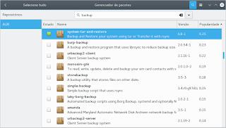 Backup usando System Tar Restore