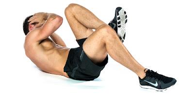 exercício abdominal obliquo
