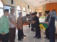 Kemenag Cianjur Serahkan 258 SK Penyuluhm Agama Islam Non PNS