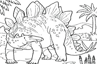 Big Dinosaur Coloring Pages