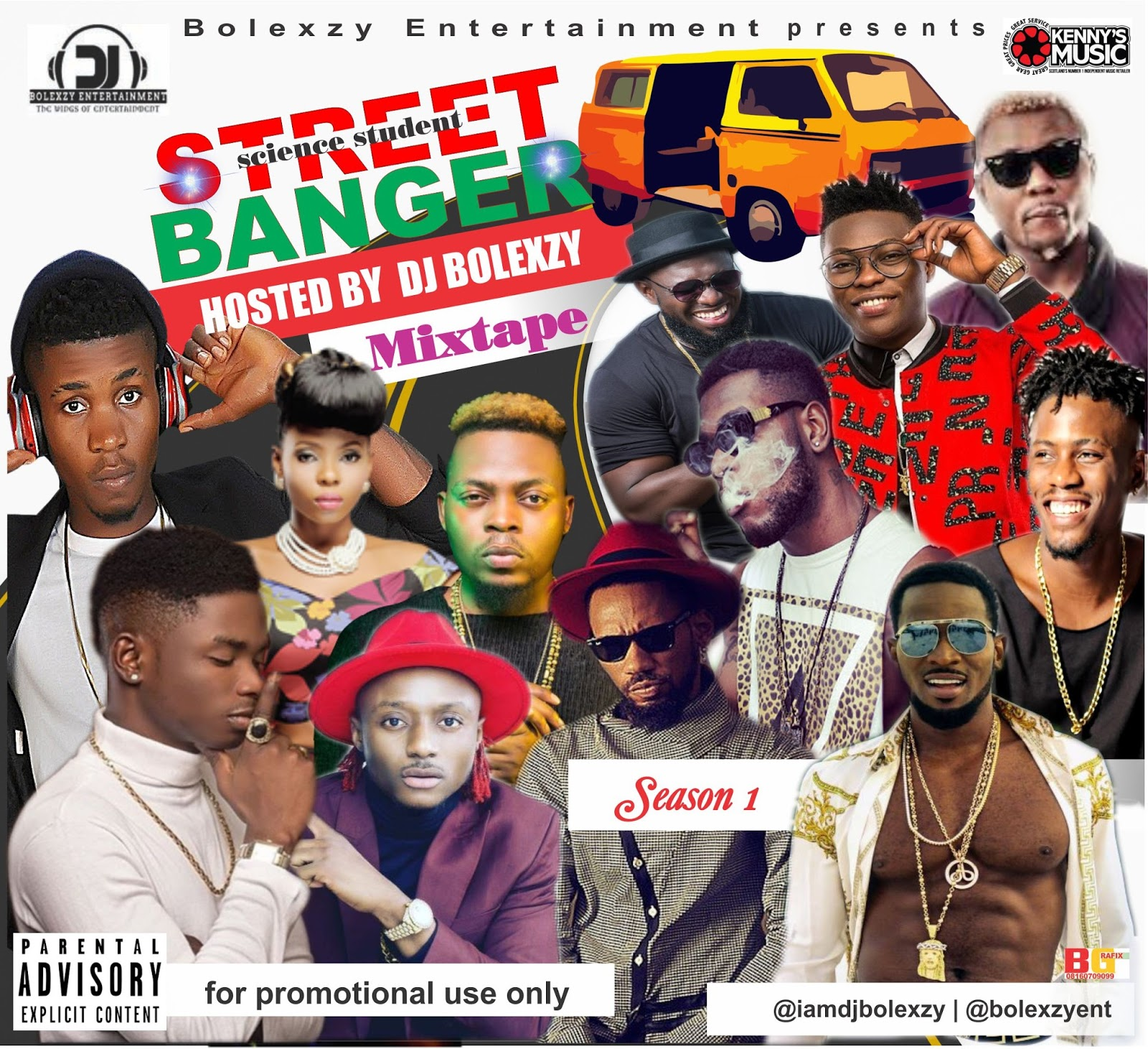 MIXTAPE || Street Banger (science student) Mix hosted by Dj