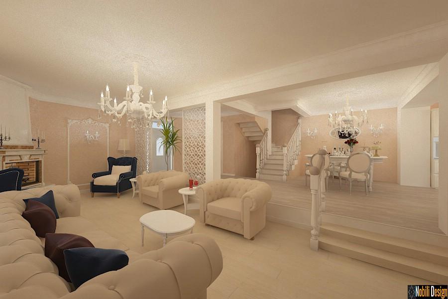 Design interior casa stil clasic Craiova | Firma arhitectura amenajari interioare 3d in Craiova.