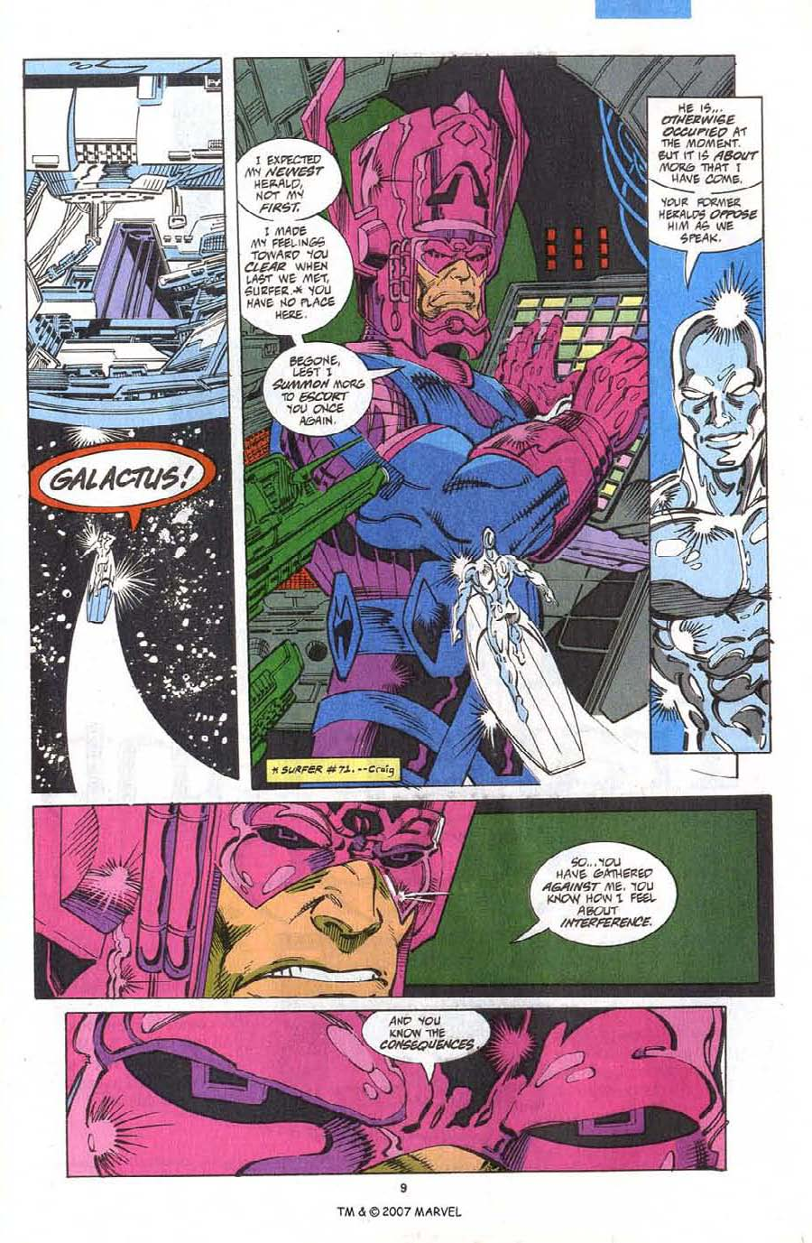 Read online Silver Surfer (1987) comic -  Issue #75 - 11