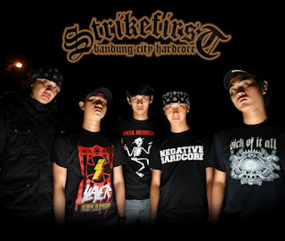 Strike First Band Hardcore Bandung Foto Logo Artwork Wallpaper