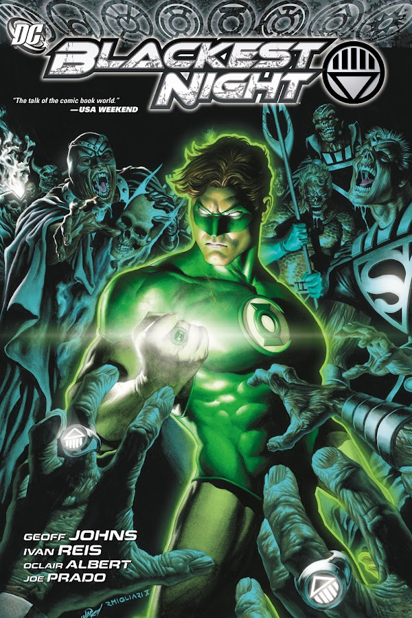blackest night dc