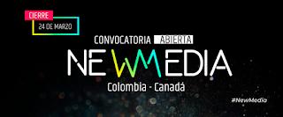 convocatoria New Media Colombia – Canadá