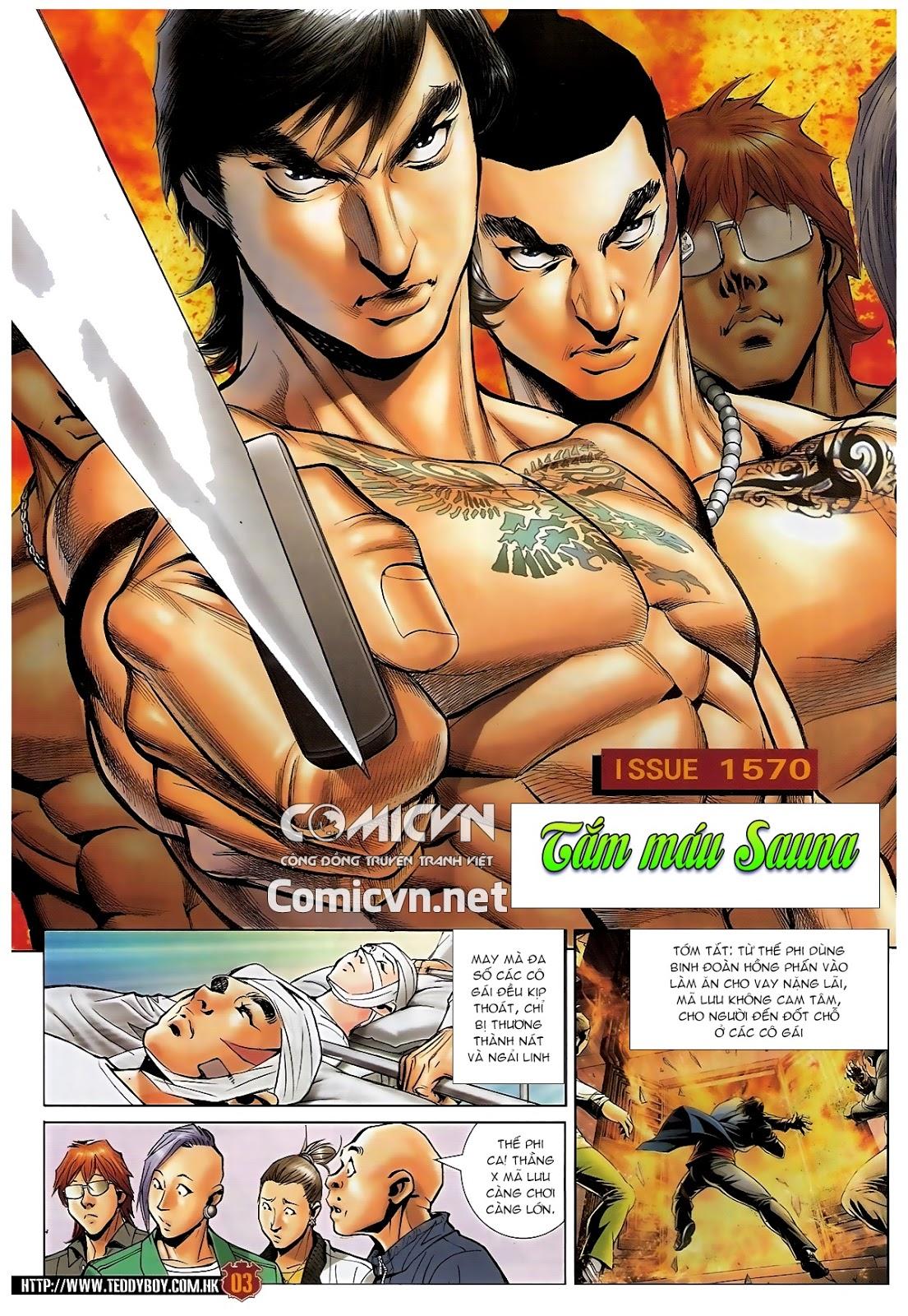 Người Trong Giang Hồ - Chapter 1570: Tắm máu sauna - Pic 2