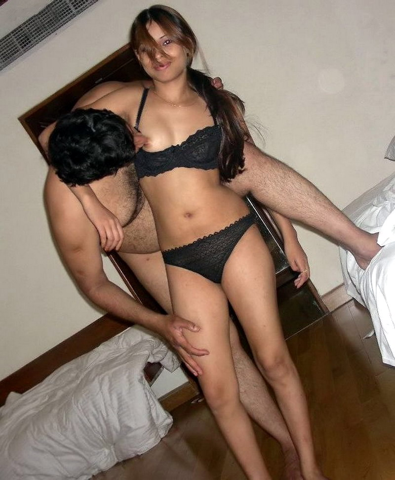 Couple sex hotel room nude boobs South Indian