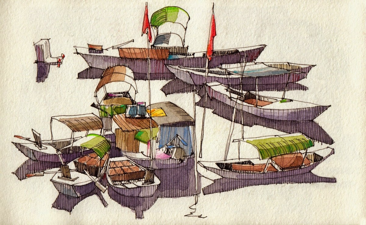 14-The-Red-River-Jorge-Royan-Drawings-Sketches-of-Travel-Logs-www-designstack-co