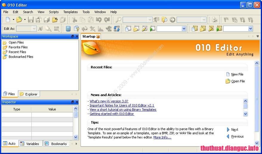 Download SweetScape 010 Editor 9.0 Full Cr@ck – Trình soạn thảo chuyên nghiệp