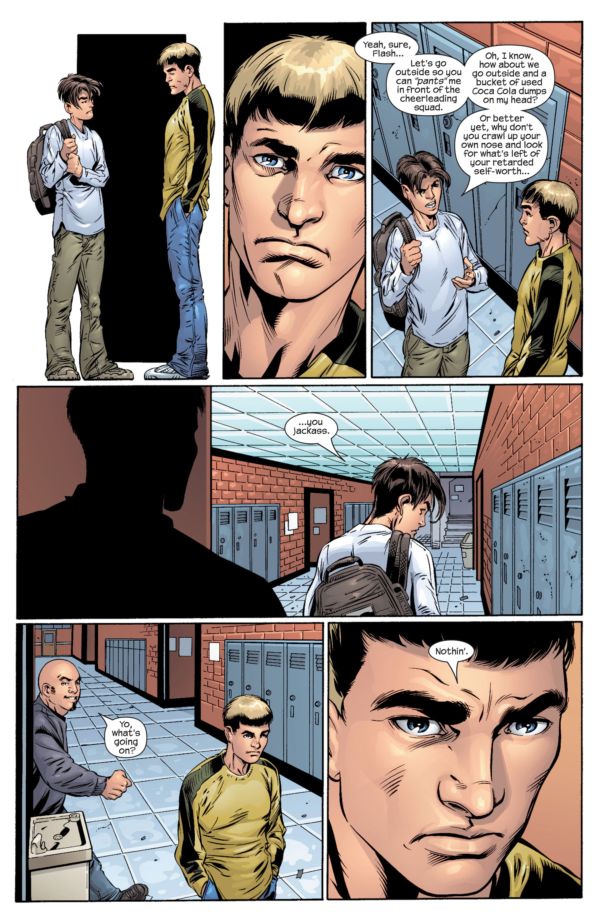 Read online Ultimate Spider-Man (2000) comic -  Issue #40 - 11