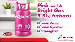 Bright Gas bahan bakar bertkualitas
