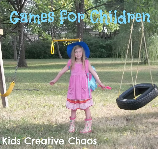Indoor and Outdoor Games for Children