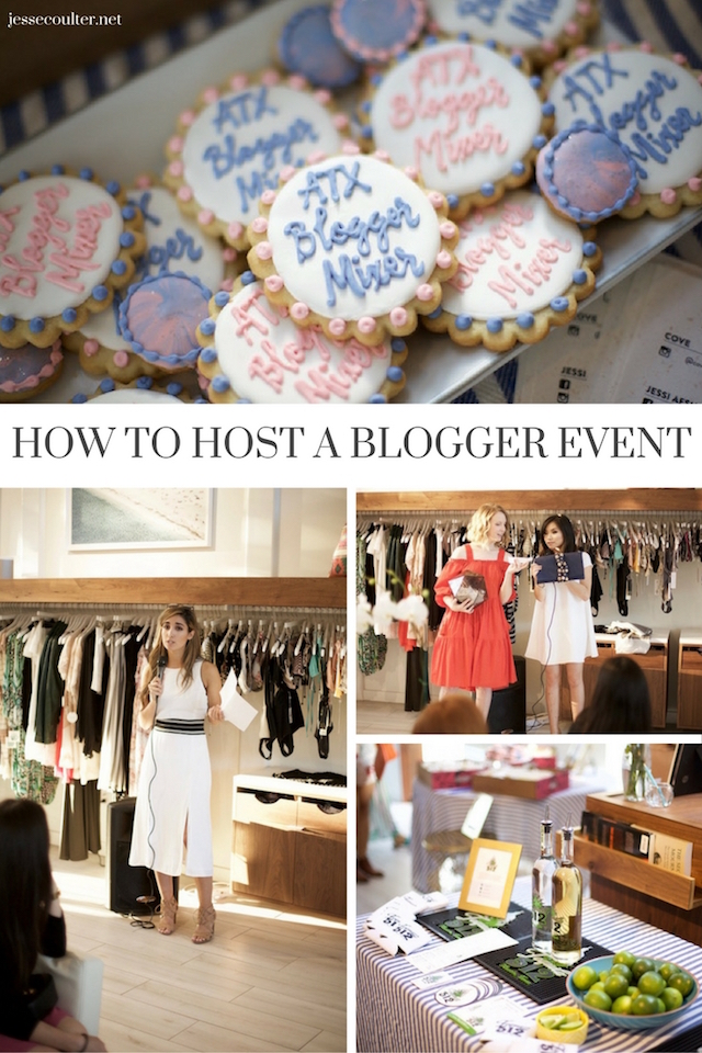 Blogger Event, Planning a Blogger Event, How to Host a Blogger Event, How to Plan a Blogging Event, Austin Blogger Event, Austin Bloggers