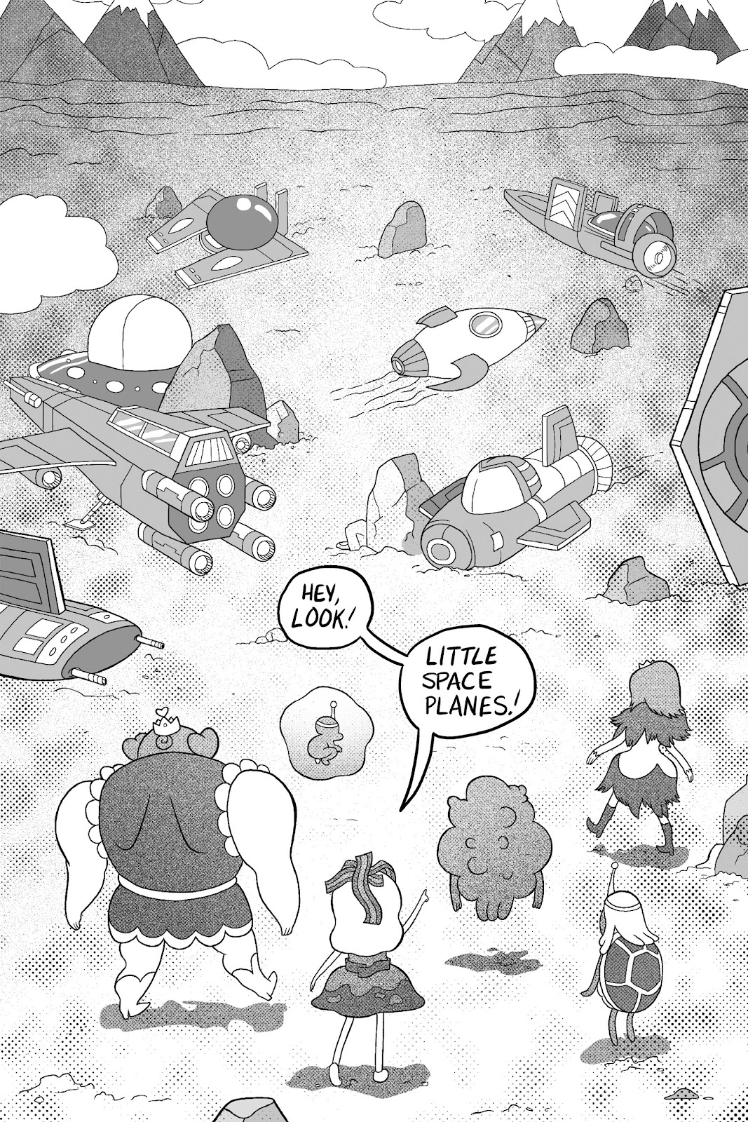 Read online Adventure Time: Pixel Princesses comic -  Issue # Full - 108