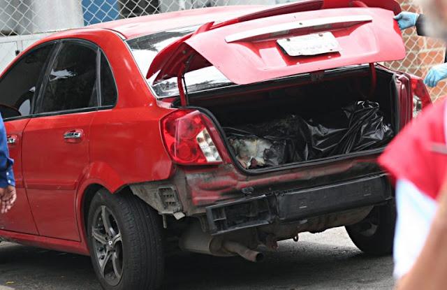 Lo encuentran muerto en la maleta de su carro en Girardot