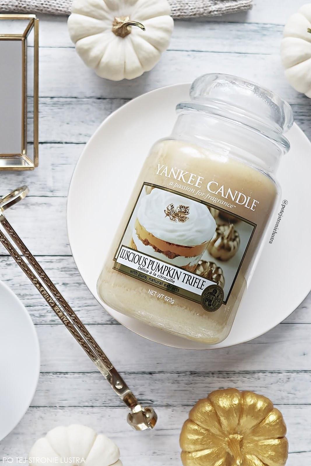 luscious pumpkin trifle yankee candle nowość na jesień 2018
