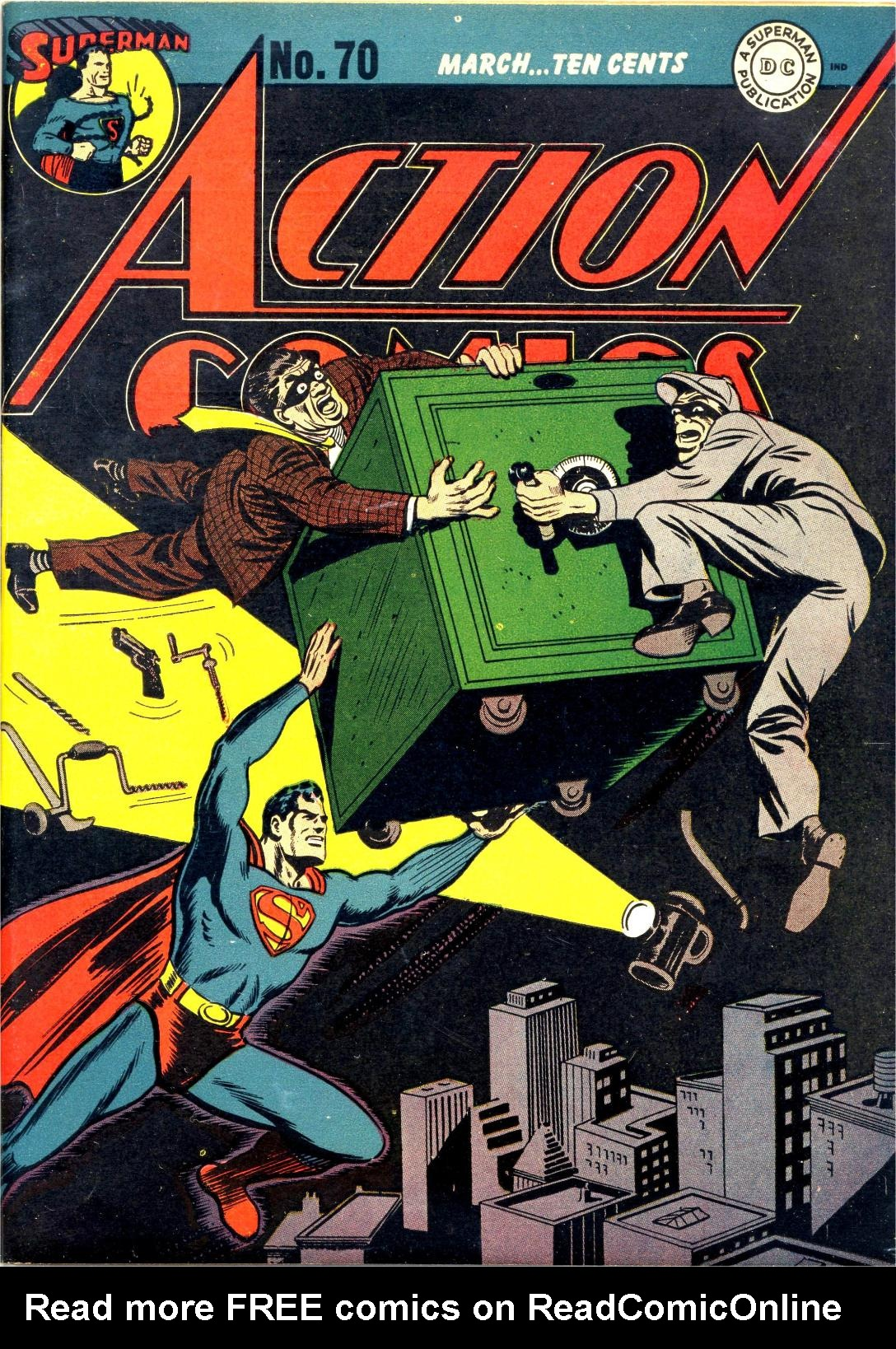 Read online Action Comics (1938) comic -  Issue #70 - 1