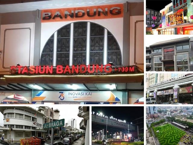 Tempat-Tempat Wisata Belanja dan Kuliner Dekat Stasiun Bandung