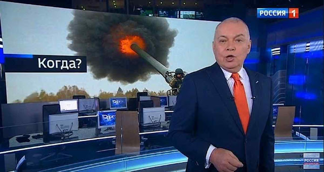 Kiselyov chegou a dizer que Moscou poderia reduzir EUA a cinzas radioativas.