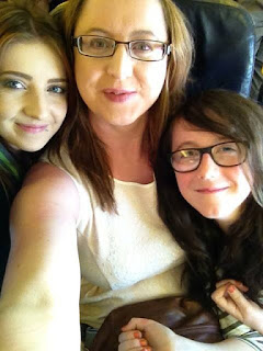 Trip to London, photo on the plane.