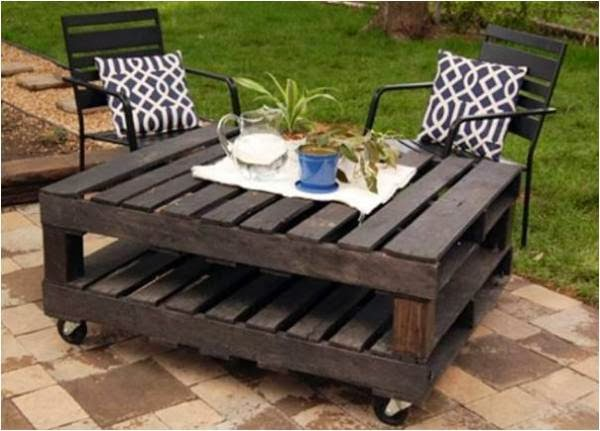 Recycled Wood Pallets For Interior Designs 6