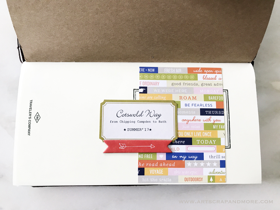 art scrap more midori traveler 39 s notebook carnet de. Black Bedroom Furniture Sets. Home Design Ideas