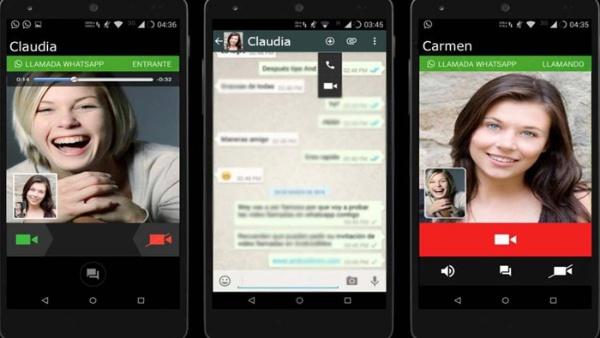 WhatssApp incorpora el servicio de videollamadas a Android