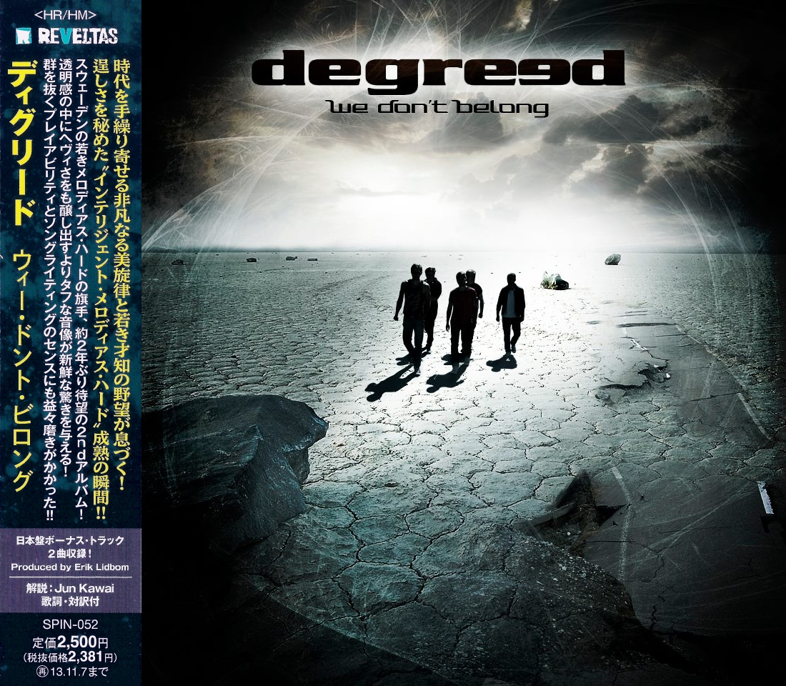 DEGREED - We Don't Belong [Japanese Edition] (2013) mp3, download