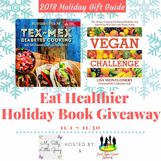 Eat Healthier Holiday Book Giveaway