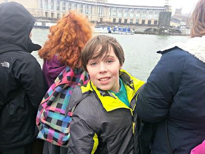 School trip aboard The Matthew