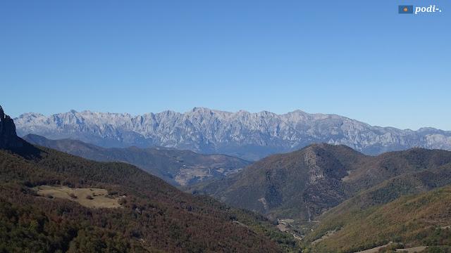 Mirador de Piedrasluengas y vlle de Valdeprado. Montaña Palentina