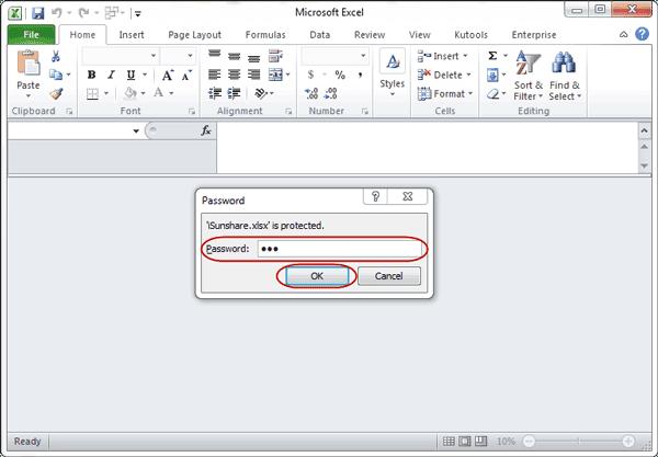 Tips Memberikan Password Pada File MS Excel Dengan Mudah