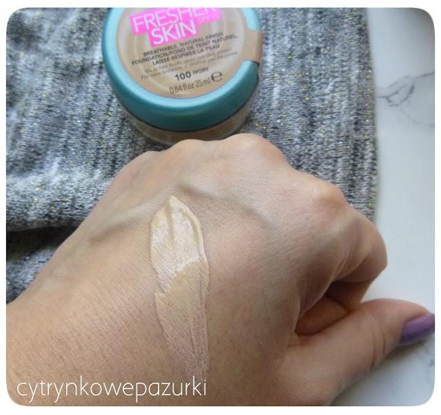 Rimmel Fresher Skin w kolorze 100 Ivory