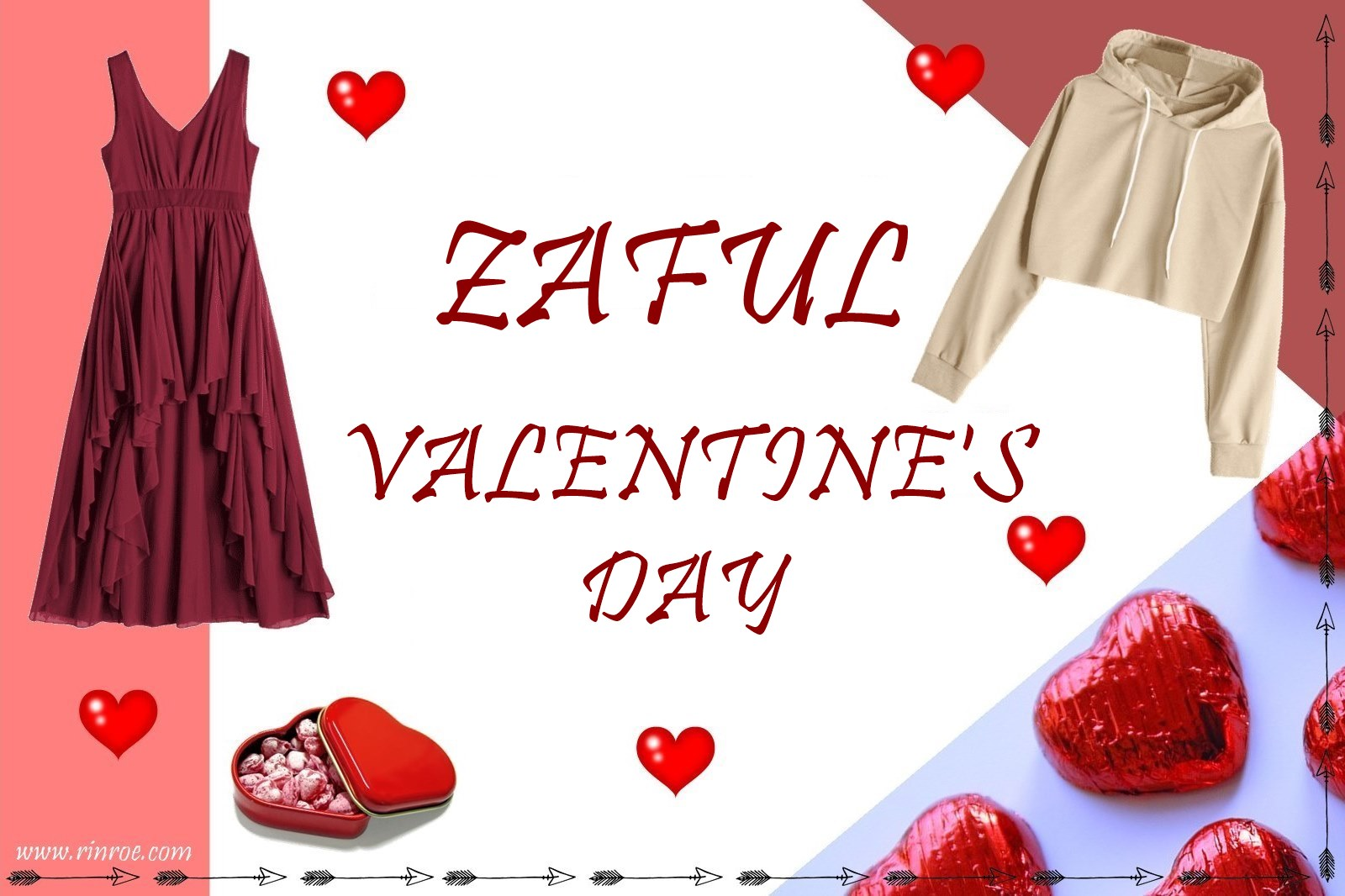 Zaful valentines day 2018
