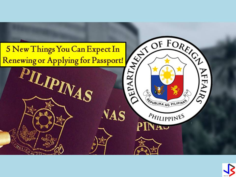 "The Department of Foreign Affairs (DFA) continues to implement new programs and project this year just to make passport application and renewal easy as 1,2, and 3. The most common problem a Filipino may face in passport application or renewal is securing a slot in an online appointment. Perhaps this is the most common complaints of people who want to apply or renew a passport.   But what DFA is doing to improve the whole passport application process? In this post, we will give emphasis to the new things introduced by the Department of Foreign Affairs (DFA) to slowly solve the problem. As what DFA Secretary Peter Allan Cayetano said, ""we owe the public and efficient, fast, and safe passporting system"".  1.  30,000 passports a day  This is the goal of the DFA that before the end of the year, the agency will be able to produce 30,000 passports per day without compromising the document's security. According to Cayetano, the public can expect for a much easier way to secure an online appointment be it for application or renewal. Currently, DFA can process 19,000 passports per day from 9,500 output per day in 2016.  2.  More Passport on Wheels, Extended Office Hours  To achieve the target of 30,000 passports per day, DFA confirms that they have eight vans with five printing machines each.  These vans were added to DFA's passport on wheels. Each machine can print 100 passports. DFA's office hour is already extended to cater more passport applicants. DFA is also open on Saturdays to speed up the application.  In addition to this, slots for travel agencies are reduced but this is in contrary to the earlier statement of DFA that travel agencies appointment slots have been removed to give back to the Filipino public.  Express lanes for a person with disabilities (PWDs) single parents, senior citizens, OFWs and children below seven years old are still implemented.  3. ePayment System  The ePayment system has been launched in June and being used by 94 percent of passport applicant according to DFA. With the ePayment system, passport applicants can now pay the fees in Bayad Centers and other venues such as 7-Eleven.  4. Additional Consular Offices  To make passport application or renewal hassle-free, eight consular offices are set to open this 2018! Four are already in the process. Two of these are operational and located in the Santiago City of Isabela and San Nicolas in Ilocos Norte.  5. Passport Printing Machines in Other Countries  For the benefit of Overseas Filipino workers (OFWs) and overseas Filipinos, Cayetano is pushing for passport printing machines to be set-up in the United States, and probably in the Middle East or Europe. With passport printing machines, the finished passports will no longer be mailed to these regions, instead, it can be printed directly in the area.   There you go! According to Secretary Cayetano, the DFA is doing its best to implement all of these five programs this year. So for people out there who are planning to apply for a passport or to renew, just take a little patient with you in this whole process."
